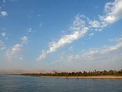 beautiful scenery of Nile River