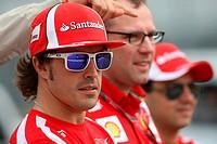 Fernando Alonso, Stefano Domenicali, Felipe Massa, Formula One, Canadian Grand Prix, Montreal, Canada