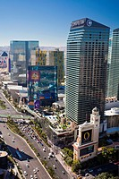 USA-Nevada-Las Vegas City-The Strip Avenue-
