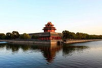 The turret in the Forbidden City