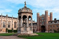 The Great Court Trinity College Cambridge England