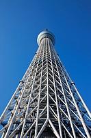 Japan, Tokyo, Asakusa, Sky Tree Tower, Architect Nikken Sekkei