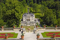 Linderhof Palace (Schloss Linderhof), Upper Bavaria, Bavaria, Germany, Europe
