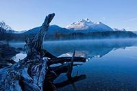 Mountain, mountains, mountain lake, autumn, lake, canton, Graubünden, Grisons, Switzerland, Europe, Engadin, Engadine, Upper Engadine, lake Sils, Piz ...