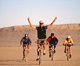 Biking in the Alvord Desert