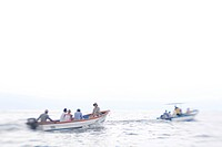 Two Boats off Costa Rica