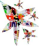 abstract christmas-illustration