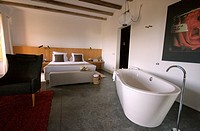 luxury suite in son brull hotel, pollensa, majorca island, spain