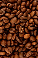 Coffee background vertical orient