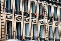 Paris and apartments of the wealthy