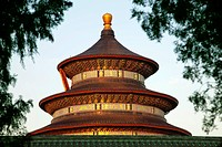Temple of Heaven or Tiantan,Hall of Prayer for Good Harvests. Beijing, China