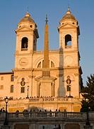 Trinita dei Monti church, Rome, Lazio, Italy