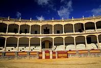 Plaza de toros of Ronda, Province of Malaga, Andalusia, Spain, Europe