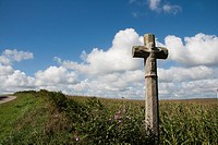 Calvary in Finistère Center, Brittany, France