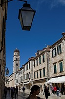 PLACA OR STRADUN, THE MAIN AVENUE IN DUBROVNIK, DALMATIAN COAST, CROATIA, EUROPE