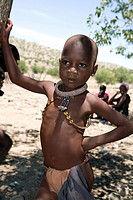 Himba Child - Damaraland, Kunene Region - Namibia, Africa