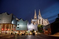 Museum Ludwig and Cologne Cathedral, North Rhine-Westphalia, Germany