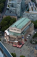 Alte Oper opera house, Frankfurt am Main, Germany
