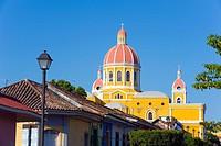 Granada Cathedral, founded in 1583, rebuilt in 1915, Granada, Nicaragua, Central America