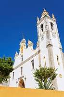 Main church of Nossa Senhora da Conceicao, Portimao, Algarve, Portugal, Europe