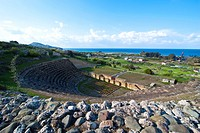 Roman ruins of Soloi, Turkish part of Cyprus, Cyprus, Europe