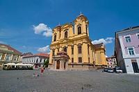 Unirii square, Temeswar Timisoara, Romania, Europe