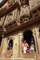 Patwon Ki Haveli or Merchant's House, Jaisalmer, Rajasthan, India