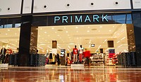 Primark store in El Mirador shopping centre at Jinamar near Las Palmas, Gran Canaria, Canary Islands, Spain