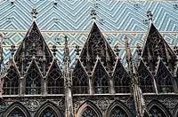 Detail of Stephansdom, Vienna, Austria