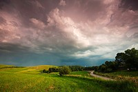 After a storm Suwalski region Poland