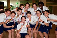 Spanish U19 selection of women's basketball, Silver medal, World Basketball Bangok 2009