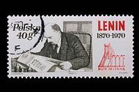 Poland _ CIRCA 1970: A stamp _ Lenin