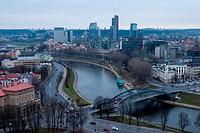 Vilnius, Neris River, Lithuania
