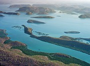 Aerial photo of Buccaneer archipelago