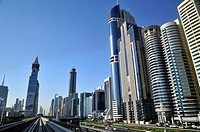 The Business Financial District  Dubai, United Arab Emirates