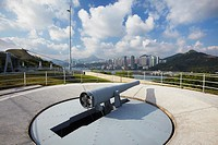 Artillery at Hong Kong Museum of Coastal Defence, Hong Kong, China