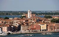 Italy, Veneto, Venice, Riva dei Sette Martiri ...