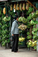 buying banana