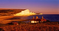 coastguard cottage, south downs, seven sisters, south downs, national park south coast, england, uk, europe