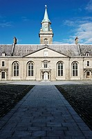 Ireland, Dublin, Kilmainham, Internal courtyard of the Kilmainham Museum of Modern Art