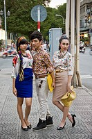 New generation, Ho Chi Minh Ville, Vietnam
