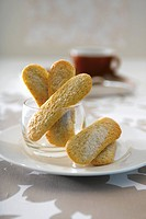 Coffee sponge fingers