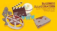 Illustration of multimedia