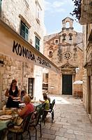 Prijeko street, Dubrovnik, Dubrovnik-Neretva county, Croatia, Europe.