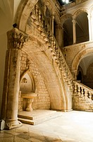 Rectors Palace, Dubrovnik, Dubrovnik-Neretva county, Croatia, Europe.