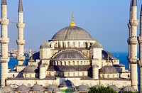 The ´Blue Mosque´ Sultan Ahmet Camii  Istanbul
