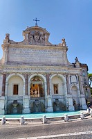The Fontanone water fountain Gianicolo Rome Italy