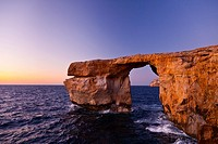 The Azure Window, Dwejra, Gozo Island, Malta, Europe