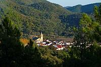 Linares de la Sierra Village, Sierra de Aracena Natural Park, Huelva, Andalucia, Spain, Europe