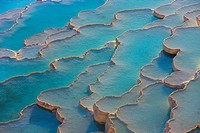 Travertine terraces of Pamukkale